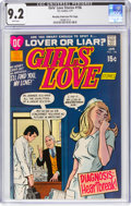 Bronze Age (1970-1979):Romance, Girls' Love Stories #156 Murphy Anderson File Pedigree (DC, 1971) CGC NM- 9.2 White pages....
