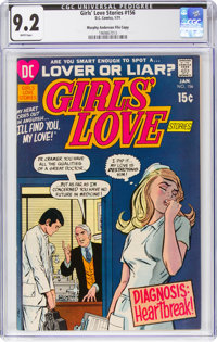 Girls' Love Stories #156 Murphy Anderson File Pedigree (DC, 1971) CGC NM- 9.2 White pages