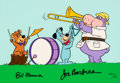 "Animation Art:Limited Edition Cel, ""Huck's Band"" Multi-Character Signed Limited Edition Cel AP #11/20 (Hanna-Barbera, 1988)...."