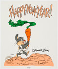 Animation Art:Limited Edition Cel, Happy New year Baby Bugs Limited Edition Cel (Warner Brothers, 2002). . ...