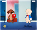 Animation Art:Limited Edition Cel, Little Orphan Airedale Porky Pig Limited Edition Cel (Warner Brothers, 2002). . ...