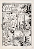Original Comic Art:Panel Pages, Dick Ayers G.I. Combat #233 1 Page Story Original Art (DC Comics, 1981)....