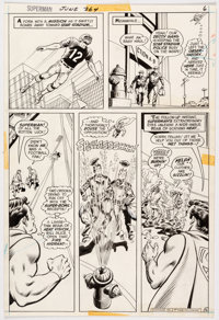 Curt Swan and Murphy Anderson Superman #264 Story Page 6 Original Art (DC Comics, 1973)