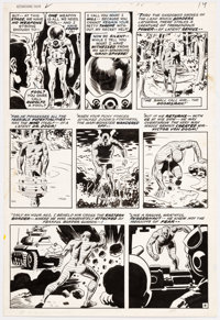 Wally Wood Astonishing Tales #2 Original Art (Marvel, 1970)