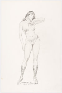 Gray Morrow - Vampirella Illustration Original Art (1988)