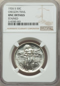 Commemorative Silver, 1926-S 50C Oregon -- Stained -- NGC Details. Unc. NGC Census: (1/2993). PCGS Population: (8/4222). CDN: $135 Whsle. Bid for...