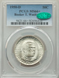 Commemorative Silver, 1950-D 50C Booker T. Washington MS66+ PCGS. CAC. PCGS Population: (272/23 and 31/1+). NGC Census: (132/19 and 3/2+). CDN: $...