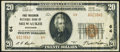 National Bank Notes:Wisconsin, Milwaukee, WI - $20 1929 Ty. 2 First Wisconsin NB Ch. # 64 Very Fine+.. ...