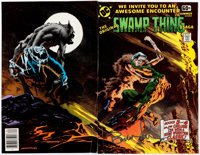 Bernie Wrightson DC Specials Series #14 The Original Swamp Thing Saga Signed Wraparound Co