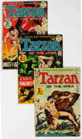 Bronze Age (1970-1979):Adventure, Tarzan Group #207-240 Near Complete Range Group of 34 (DC, 1972-75) Condition: Average FN.... (Total: 34 )