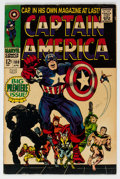 Silver Age (1956-1969):Superhero, Captain America #100 (Marvel, 1968) Condition: FN....