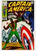 Silver Age (1956-1969):Superhero, Captain America #117 (Marvel, 1969) Condition: FN/VF....