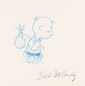 Animation Art:Production Drawing, Peanuts - Charlie Brown Animation Drawing (Bill Melendez, c.1970-80s). . ...