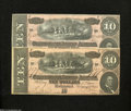 Confederate Notes:1864 Issues, T68 $10 1864. Extemely Fine - Choice Crisp Uncirculated...