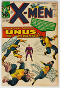 Silver Age (1956-1969):Superhero, X-Men #8 (Marvel, 1964) Condition: FN-. First appe...