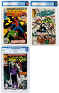 Bronze Age (1970-1979):Superhero, The Amazing Spider-Man #176, 299, and 320 CGC-Graded Group (Marvel, 1978-89).... (Total: 3 Comic Books)