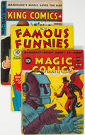 Golden Age (1938-1955):Miscellaneous, Golden Age Comics Group of 4 (Various Publishers, 1941-51).... (Total: 4 )
