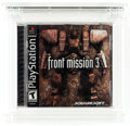 Video Games:Playstation, Front Mission 3 (PS1, Squaresoft, 2000, USA) Wata 9.4 A (Seal Rating)....