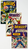 Silver Age (1956-1969):Superhero, The Avengers Group of 61 (Marvel, 1964-69) Condition: Aver...