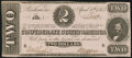 Confederate Notes:1863 Issues, T61 $2 1863 PF-7 Cr. 473 Choice About Uncirulated.. ...