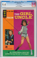 Silver Age (1956-1969):Miscellaneous, Girl From U.N.C.L.E. #4 File Copy (Gold Key, 1967) CGC NM 9.4 Off-white to white pages....