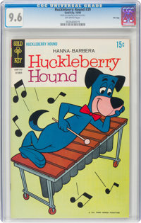 Huckleberry Hound #39 File Copy (Gold Key, 1969) CGC NM+ 9.6 Off-white pages