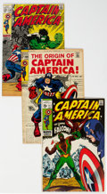 Silver Age (1956-1969):Superhero, Captain America Group of 18 (Marvel, 1968-69) Condition: Average VF-.... (Total: 18 )
