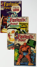 Silver Age (1956-1969):Superhero, Fantastic Four Group of 12 (Marvel, 1965-69) Condition: Av...