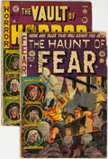 Golden Age (1938-1955):Miscellaneous, Haunt of Fear #19 and Vault of Horror #19 Group (EC, 1951-53) Condition: Average GD.... (Total: 2 Comic Books)