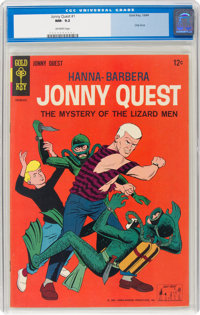 Jonny Quest #1 (Gold Key, 1964) CGC NM- 9.2 Off-white pages