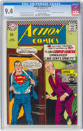 Silver Age (1956-1969):Superhero, Action Comics #345 (DC, 1967) CGC NM 9.4 Off-white to whit...