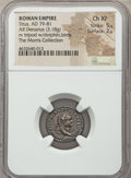 Ancients:Roman Imperial, Ancients: Titus, as Augustus (AD 79-81). AR denarius (18mm, 3.18 gm, 6h). NGC Choice XF 5/5 - 2/5....