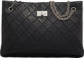 """Luxury Accessories:Bags, Chanel Quilted Aged Lambskin Leather Small Tote Bag. Condition: 2. 14"""" Width x 10"""" Height x 5"""" Depth. ..."""