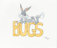 Virgil Ross - Bugs Bunny Drawing (Warner Brothers, c. 1990s)