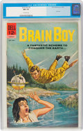 Silver Age (1956-1969):Science Fiction, Brain Boy #6 (Dell, 1963) CGC NM 9.4 Off-white pages....