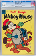 Golden Age (1938-1955):Funny Animal, Mickey Mouse #40 File Copy (Dell, 1955) CGC NM- 9.2 Off-white to white pages....