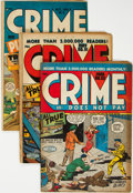 Golden Age (1938-1955):Crime, Golden Age Crime Comics Group of 11 (Various Publishers, 1947-54) Condition: VG.... (Total: 11 Comic Books)