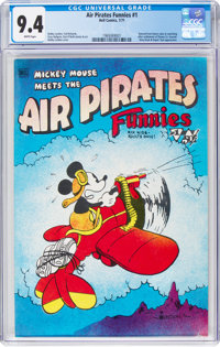 Air Pirates Funnies #1 (Hell Comics Group, 1971) CGC NM 9.4 White pages