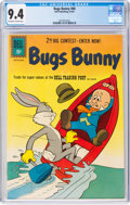 Silver Age (1956-1969):Cartoon Character, Bugs Bunny #80 (Dell, 1961) CGC NM 9.4 Off-white to white pages....