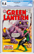 Silver Age (1956-1969):Superhero, Green Lantern #34 (DC, 1965) CGC NM 9.4 White pages.
