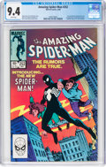 Modern Age (1980-Present):Superhero, The Amazing Spider-Man #252 (Marvel, 1984) CGC NM 9.4 White pages....