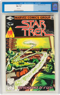 Modern Age (1980-Present):Science Fiction, Star Trek #2 (Marvel, 1980) CGC NM+ 9.6 White pages....