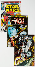 Modern Age (1980-Present):Miscellaneous, Silver Surfer/Star Trek/Star Wars Group of 37 (Marvel, 1980-92) Condition: Average NM-.... (Total: 37 Comic Books)
