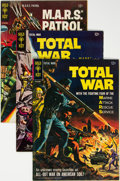 Silver Age (1956-1969):Science Fiction, Total War / M.A.R.S. Patrol Group of 10 (Gold Key, 1965-69) Condition: Average VF.... (Total: 10 )