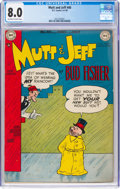 Golden Age (1938-1955):Humor, Mutt and Jeff #40 (DC, 1949) CGC VF 8.0 Off-white to white pages....