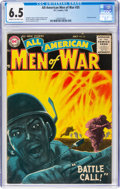 Silver Age (1956-1969):War, All-American Men of War #35 (DC, 1956) CGC FN+ 6.5 Cream to off-white pages....