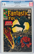 Silver Age (1956-1969):Superhero, Fantastic Four #52 (Marvel, 1966) CGC FN/VF 7.0 Off-white to white pages....