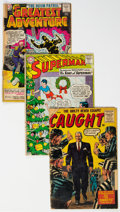 Silver Age (1956-1969):Miscellaneous, Golden and Silver Age Comics Box Lot (Various Publishers, 1950s-60s) Condition: PR....