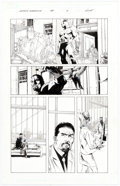 Original Comic Art:Panel Pages, Butch Guice and Mike Perkins Captain America #35 Story Page 2 Original Art (Marvel Comics, 2008)....