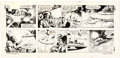 Original Comic Art:Comic Strip Art, Dan Barry and Bob Fujitani Flash Gordon Sunday Comic Strip Original Art dated 10-3-82 (King Features Syndicate, 19...